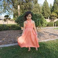 junior bridesmaid dress coral pink kids attractive rd com