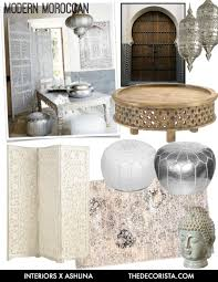 january mood board modern moroccan style u2014 the decorista
