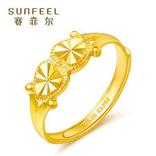 rings love heart images Saifeier gold ring women 39 s hearts heart couple lovers engagement jpg