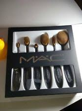 professional m a c oval toothbrush makeup set 6 brushes usa
