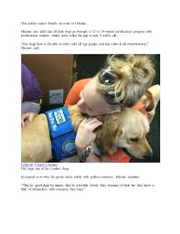 Comfort Dogs Certification Comfort Dogs Provide Emotional Support After Orlando Shooting