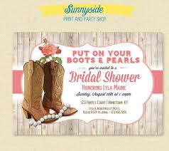 country bridal shower invitations marialonghi