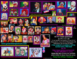 where to buy patty paper psovart giclee print watercolor clown 23 kerry ringness on