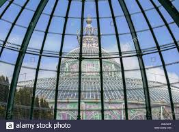dome of the jardin d u0027hiver winter garden in art nouveau style by