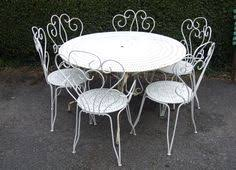 Large Bistro Table And Chairs G201 Vintage Single Folding Garden Patio Café Chair