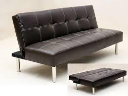 Faux Leather Sofa Sleeper Black Leather Sofa Bed Epic Black Leather Sofa Bed 83 In