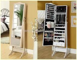 mirror and jewelry cabinet jewelry mirror storage mirrored jewelry cabinet 410201 dbt