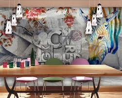 compare prices on letter print wallpaper online shopping buy low beibehang 3d wall paper the mural on the wall wallpaper zebra bar letters tooling setting wall