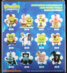 spongebob squarepants mini figure world blind box blindboxes