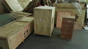 delivery wooden case packed u0026 loading to container snail pharma