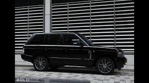 mercedes land rover matte black land rover range rover autobiography black