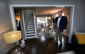 homeowner transforms st louis park house into modern day bachelor