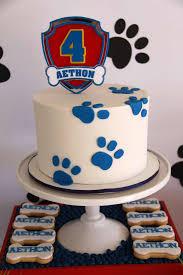 torte compleanno della paw patrol osso cani blogmamma