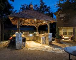 outdoor cooking spaces outside kitchen yard porches pinterest tables kitchens and room