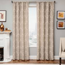 Pier One Drapes Pier One Drapes Loading Seasons Paisley Tan Grommet Curtain