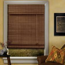bamboo roman shades outside mount u2014 modern home interiors