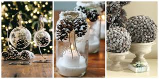 21 holiday pine cone crafts ideas for pinecone christmas