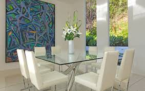 Square Dining Room Tables For 8 18 Square Glass Top Dining Tables Designs Ideas Plans Design