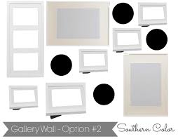 ikea ribba southern color how to create a gallery wall ikea ribba frames