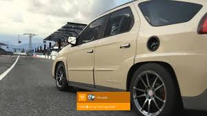 pontiac aztek forza 6 twin turbo v8 swap pontiac aztek drift build youtube