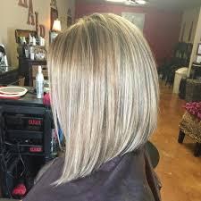 slightly angled long bob 50 elegant long and short angled bob hairstyles