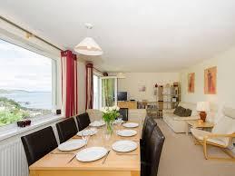 penhallow contemporary apartment with sea views free wifi