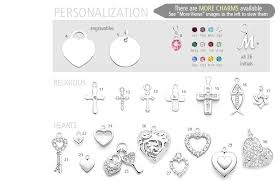 engravable charms design your own pendant with small engravables includes 1