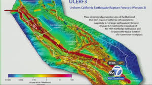 Washington State Earthquake Map by Usgs Predicts Massive Earthquake In California Within 30 Years