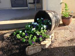 Half Barrel Planters by 75 Best Spilling Flowers Images On Pinterest Flower Pots Garden