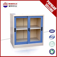 small bookcase with glass doors glass sliding door small cube steel bookcase storaging cupboard