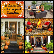 Fall Patio 16 Awesome Fall Patio Design And Decor Ideas Homadein
