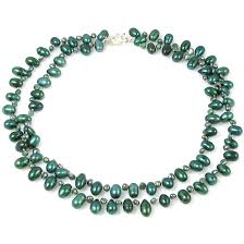 green pearls necklace images Veronica lake sea green freshwater pearl necklace jacqueline shaw jpg