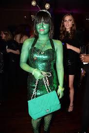 Green Halloween Costume Celebrities Halloween Costumes