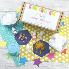 personalised soap making craft kit for children by make with mum