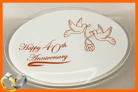 anniversary plate happy anniversary plate usa made behrenbergglass