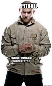 Pitbull Meme - pitbull rapper memes quickmeme