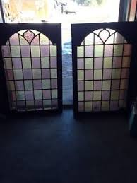 Antique Stained Glass Door by Stained Glass Cabinet Doors Ebay
