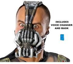 Dark Knight Halloween Costume Batman Dark Knight Rises Bane Mask Voice Changer