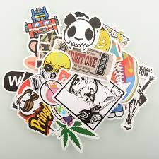 lsd 100 pieces stickers skateboard snowboard vintage vinyl sticker