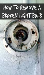 How To Get Rust Out Of Bathtub How To Remove A Broken Light Bulb Home Ec 101