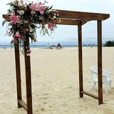 wedding arches geelong timberweddingarch looking all pretty on stkilda the