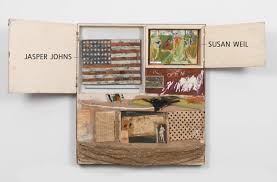 Johns Flag The Rules Of Art According To Rauschenberg