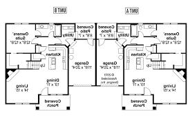 floor plan with garage 1st floor planduplex plans with garage in middle duplex rear