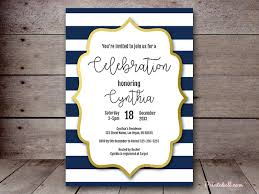 nautical bridal shower invitations bridal shower invitations printabell create