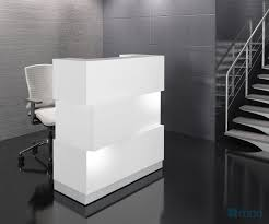Reception Desk Black by Zen Reception Desk White Buy Online At Best Price Sohomod