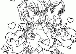 manga coloring pages coloring4free