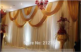 wedding backdrop size aliexpress buy dhl fedex free shipping wedding stage