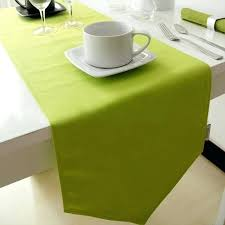 lime green table runner green table runner jacquard mon green tab runner x inches lime green