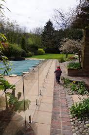 piscine en verre sécurité clôture de piscine en verre