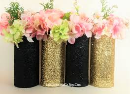 Where To Buy Cylinder Vases Wedding Centerpiece Gold Wedding Decor Cylinder Vase Black And